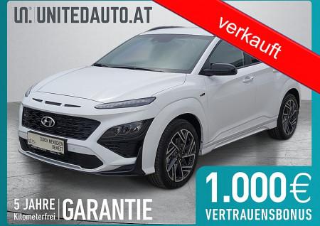 Hyundai KONA N Line 1,0 Turbo-GDi *el. kühlb. Leder/Allcantara, Voll-LED, Sportpaket* bei BM || Seifried United Auto Grieskirchen Wels in