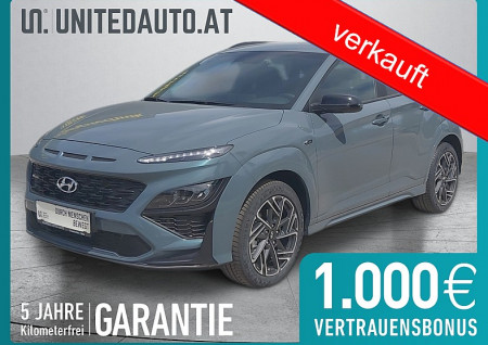Hyundai KONA N Line 1,0 Turbo-GDi * Navi 10,25″, Voll-LED, Sportpaket bei BM || Seifried United Auto Grieskirchen Wels in