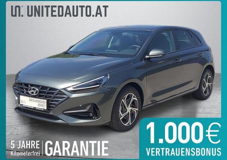 Hyundai i30 1,0 T-GDI Trend Line DCT *LED, Navi App, RF-Kam.* bei BM || Seifried United Auto Grieskirchen Wels in