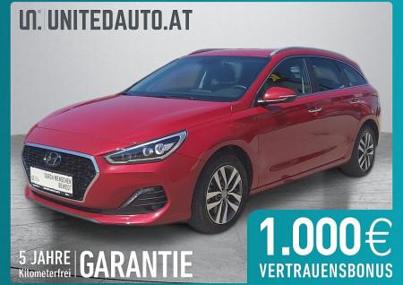 Hyundai i30 CW T-GDI Level 4 *Voll LED, Navi-App, Klimaaut., Sitz-/Lenkrad Hzg* bei BM || Seifried United Auto Grieskirchen Wels in
