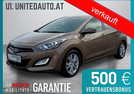 Hyundai i30 CW 1,4 CVVT Europe Plus *8-fach bereift*§57a bis 07/2022*Klimaautomatik*Sitzheizung* bei BM || Seifried United Auto Grieskirchen Wels in