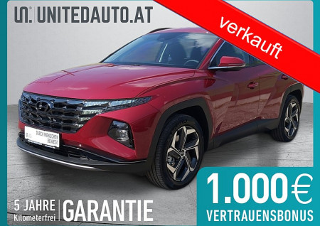 Hyundai Tucson 1,6 Turbo Plug-In Hybrid 4WD *265 PS,VOLL-LED,19 ZOLL,Klimatronic,Apple CarPlay u.Android Auto* Smart Line bei BM || Seifried United Auto Grieskirchen Wels in