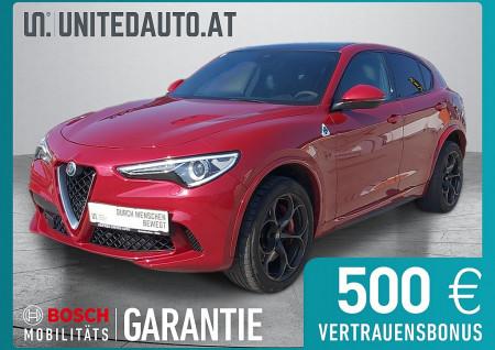 Alfa Romeo Stelvio Quadrifoglio 2,9 V6 510PS ATX AWD BI TURBO bei BM || Seifried United Auto Grieskirchen Wels in