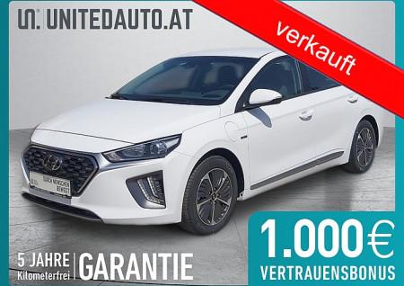 Hyundai Ioniq 1,6 Plug-In *App-Navi, RF-KAM, 2-Zonen Klima, Spurhalteassist.* bei BM || Seifried United Auto Grieskirchen Wels in
