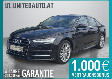 Audi A6 2,0 TDI Quattro Intense S-tronic *S line, Panoram., VOLL-LED* bei BM || Seifried United Auto Grieskirchen Wels in