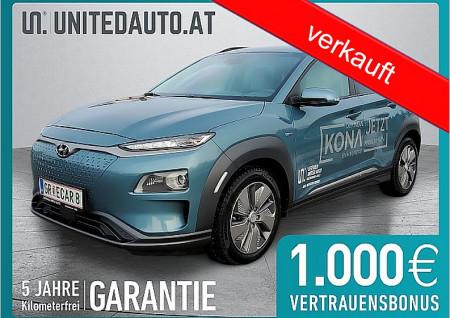 Hyundai KONA EV L6 *Sitzbelüft., VOLL-LEDER, 3D-NAVI, PDC vor. u. hi., Climatronic* bei BM || Seifried United Auto Grieskirchen Wels in
