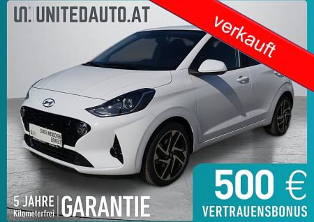 Hyundai i10 1,0 Feel Good *Rückfahrkamera*Sitzheizung*Tempomat*Bluetooth* bei BM || Seifried United Auto Grieskirchen Wels in