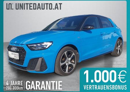 Audi A1 SB 30 TFSI S-line S-tronic *VOLL-LED, 3D-Navi, PDC vo+hi, Leder/Alcantara* bei BM || Seifried United Auto Grieskirchen Wels in