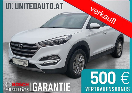 Hyundai Tucson 1,7 CRDI *3D-Navi, RF-Kam., Klimaaut., 8-fach bereift* Go bei BM || Seifried United Auto Grieskirchen Wels in