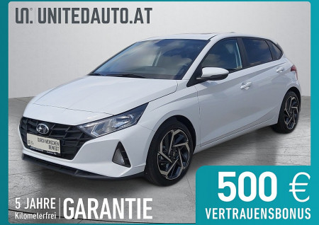 Hyundai i20 1,2 Sky *3D-Navi, Sch.dach, Winterpaket, ACC* bei BM || Seifried United Auto Grieskirchen Wels in