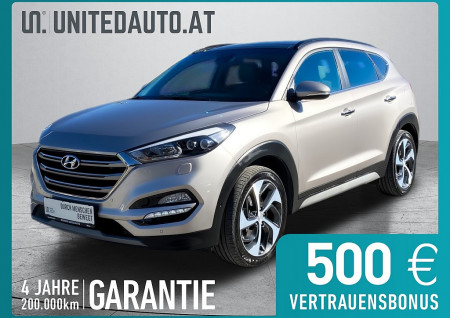 Hyundai TUCSON 2,0 CRDI 4WD Platin Aut. *LED, Navi, RF-KAM.* bei BM || Seifried United Auto Grieskirchen Wels in