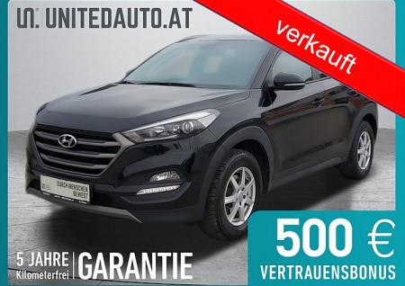 Hyundai Tucson 1,7 CRDI GO *3D-Navi, RF-Kam., Klimaaut., 8-fach* bei BM || Seifried United Auto Grieskirchen Wels in