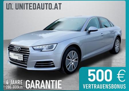 Audi A4 2,0 TDI quattro Design S-tronic *3D-Navi, PDC vo+hi, XENON, Klimaaut.* bei BM || Seifried United Auto Grieskirchen Wels in